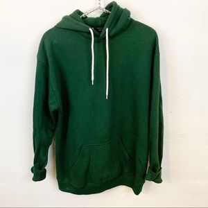 Forever 21 l Green Hooded Sweatshirt